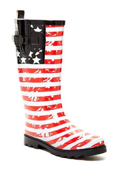 Mid Calf Rain Boot by West Blvd Shoes on @HauteLook