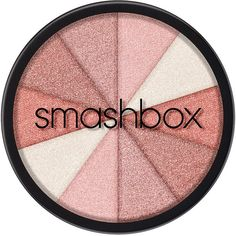 Smashbox Fusion Soft Lights, BAKED STARBLUSH 1 ea (£22) ❤ liked on Polyvore featuring beauty products, makeup, face makeup, face powder, beauty, blush, cosmetics, smashbox and shimmer face powder