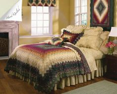 Donna Sharp Sea Breeze Star Quilted Country Cottage King 3-Piece Set
