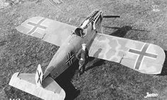 One of the most advanced aircraft of World War I was the German Junkers D1. As the range of travel increased, pilots developed ways to get more fuel in mid-flight.