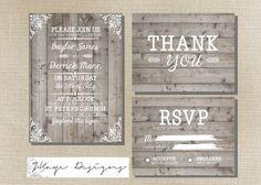 SALE  DIY Printable Wedding Invitation by milestogodesigns on Etsy, $35.00
