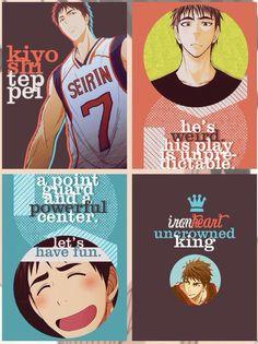 Kiyoshi Teppei Iron Heart. Kuroko no Basket
