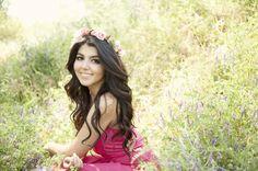 #FlowerCrown: Ashley Maxwell #Photography #DIY #crafts #wedding #Engagement #flower