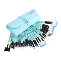 VANDER 32pcs Makeup Brushes Set Professional + Pouch Bag