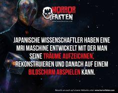 Faszinierend! Würdest du es ausprobieren wollen?  #horrorfakten #fakten #horror #träume #traum #mri #fakt
