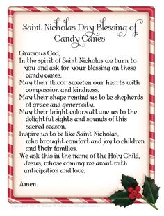 Celebrating Saint Nicholas Day - includes printable Saint Nicholas Day blessing #advent #Christmas #Catholic
