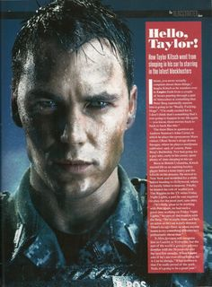 "Movie ""Battleship"" 2012 - Director: Peter Berg- A Universal Pictures Film. Taylor Kitsch as Alex Hopper."