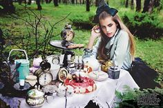 Jadore Le Fashion: Alice in Wonderland inspired shoots.