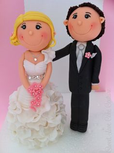 Sugar Bride and Groom - Sweet Love Cake Couture