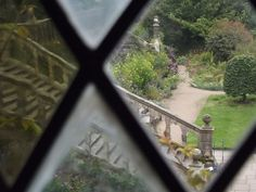 Inside Haddon Hall - The Long Gallery - steps in the garden outside | Flickr - Photo Sharing!