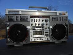 VINTAGE CONION C-100F STEREO CASSETTE BOOMBOX ORIGINAL ONKYO JAPAN GHETTOBLASTER | Consumer Electronics, Portable Audio & Headphones, Portable Stereos, Boomboxes | eBay!