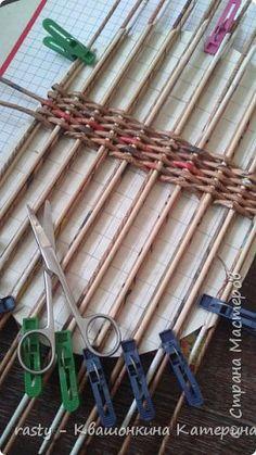 Поделка изделие Плетение Седьмая корзина Огромная Бумага газетная Трубочки бумажные фото 7