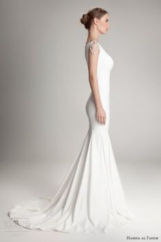 Love this wedding dress plain and simple