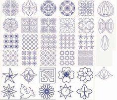 sashiko patterns
