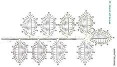 Платье Росыпь листьев ирланское кружево,с большим количеством вариантов схем!. Обсуждение на LiveInternet - Российский Сервис Онлайн-Дневников