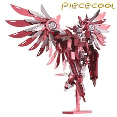 Cheap model kit, Buy Quality robot model kit directly from China laser cut models Suppliers: Metal Nano Puzzle Thundering Wings Gundam Robot Model Kits DIY Laser Cut Models Jigsaw Toys Metal Puzzles, 3d Puzzles, Seraph Angel, Diy 3d, Metal Earth, Laser Cut Steel, Model Building Kits, Model Kits, Anime Store