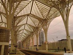 Lizbona Oriente: Dworzec Oriente (Gare do Oriente) – największy dworzec w Portugalii [Dojazd, zdjęcia i wideo] http://infolizbona.pl/?p=2004