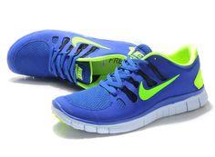 2013 Nike Free 5.0 Deep Blue orange Schuhe Outlet Online