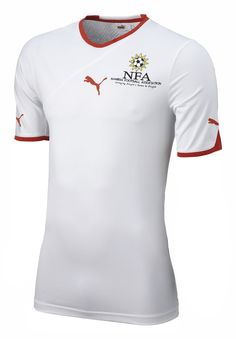 Namibia (Namibia Football Association) - 2010/2011 Puma Away Shirt