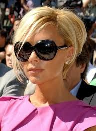 Image result for victoria beckham pixie cut blonde