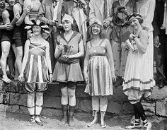 Bathing beach parade, July 2, 1919