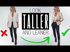 10 Petite Style Secrets That I Use to Look Taller and Leaner (Fashion Over 40 & Over 50) - YouTube Basic Style, My Style, Refashion Dress, Casual Outfits, Fashion Outfits, Womens Fashion, Fashion Over 40, Perfectly Imperfect, Petite Fashion