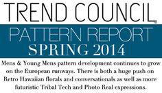 Fashion 2014-Patterns for Men