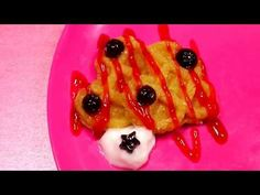 Doggy Shape Waffle. Cook Waffle Cake Making Blueberry Toy House Play Popin Baby Cooking Fun Toys - YouTube