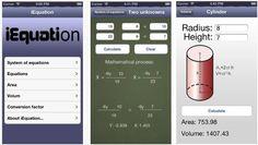 iEquation est une appli pour iPhone qui permet de résoudre des équations simplement. Elle a été crée par un ado de 16 ans !