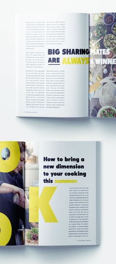 Cooking Magazine Layout - Free Download! - Recipes / Food / Magazine Spread / Layout