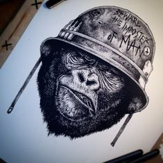 Ape Soldier by Paul Jackson