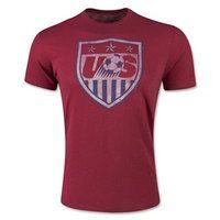 USA Soccer Team 2015 Scrum T-Shirt [B137]
