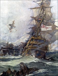 Art by Frank Brangwyn (1903) from SCRIBNER'S Magazine...........   ................................♥...Nims...♥