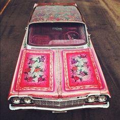 Flower Car #tuning #jantes #quartierdesjantes www.quartierdesjantes.com