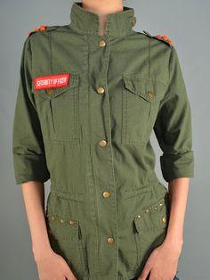 Fall Military Jacket