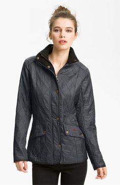 Shop Now - >  https://api.shopstyle.com/action/apiVisitRetailer?id=619549795&pid=uid6996-25233114-59 Women's Barbour 'Cavalry' Quilted Jacket  ...