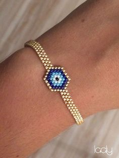 "Bracelet ""Œil Turc"" via Laaly. Click on the image to see more!"