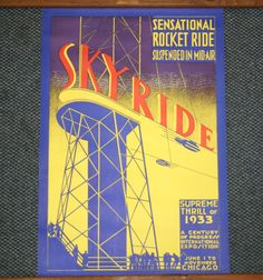worlds fair poster - Google Search