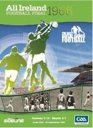 Football Final 1966 - Galway v Meath