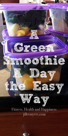 A Green Smoothie A Day the Way. jillconyers.com