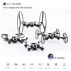 ==> [Free Shipping] Buy Best Deformable Drone With Camera 4 Shapes Mini Quadcopter Flying Rc Helicopter 4ch 6 Axis Dron Rtf Rc Copter Toy For Kid Brinquedos Online with LOWEST Price | 32309175257