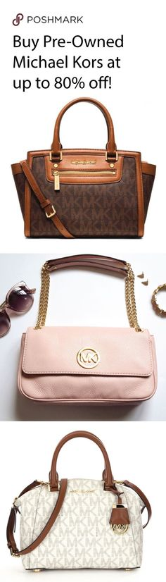 Looking for the perfect purse before your next big trip? Shop Pre-Loved Michael Kors at Poshmark! Find deals up to 70% off all from your phone! Install the free app now! Shipping is also fast and easy.
