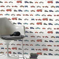 Be You papierbehang Auto's multicolor | Praxis