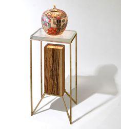 Post Pedestal in Wood by Codor Design