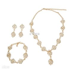 Wholesale Pearl Jewelry Sets - Buy Stainless Steel Chains Women Accessories Pearl Jewelry Set for Wedding Bridal Jewelry Sets Pearl Bracelet Necklace Set Evbea, $11.58 | DHgate