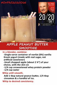 A healthy option for breakfast on the go! Dr. Phil · 20/20 Diet