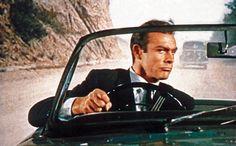 Ranking All 24 James Bond Movies Sean Connery James Bond, George Lazenby, Timothy Dalton, Bond Cars, Scottish Actors, Pierce Brosnan, Roger Moore, People Of Interest, Steven Spielberg