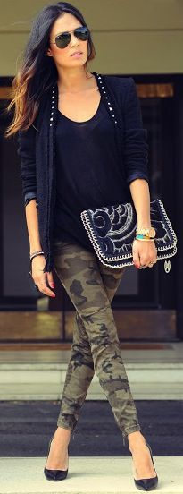 Wearing camo, the right way