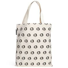 Poe Ka Dot Tote Bag- seriously, the name is half the reason that I love it! :: The mental_floss Store