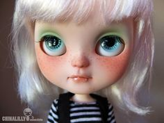 OOAK custom icy doll - by China-Lilly